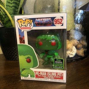Funko POP He-man (Slime Pit) Spring 2020 Limited